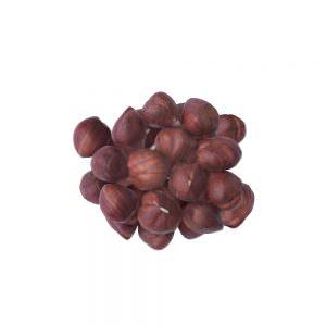 hazelnut kernels with skin