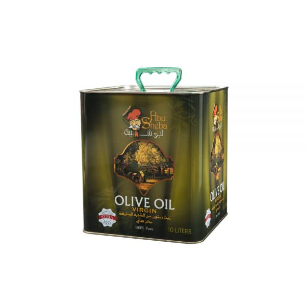 olive oil 10L can front